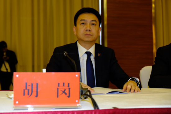 富滇银行国际业务部总经理胡岗