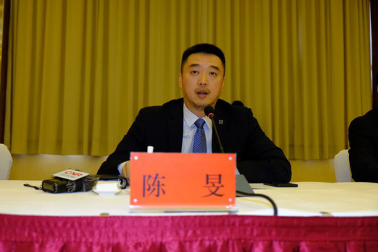 富滇银行管理部副总经理陈旻