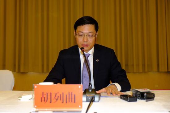 富滇银行战略发展部总经理胡列曲