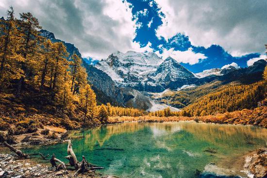 摄影作品《秋日童话》