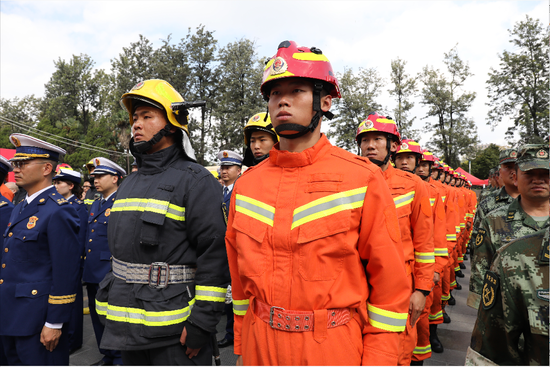"""2019年昆明市""""119消防宣传月""""系列活动启动"""