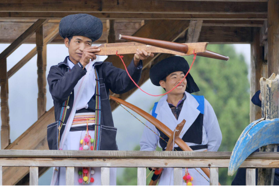 傈僳族射弩民族项目