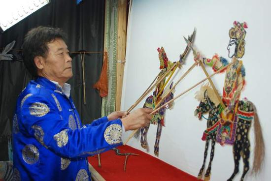腾冲皮影戏入选中国(昆明)官渡第九届全国非物质文化遗产联