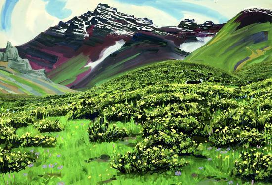 聚焦风景山水创作 中国著名艺术家姚钟华个展昆明开展