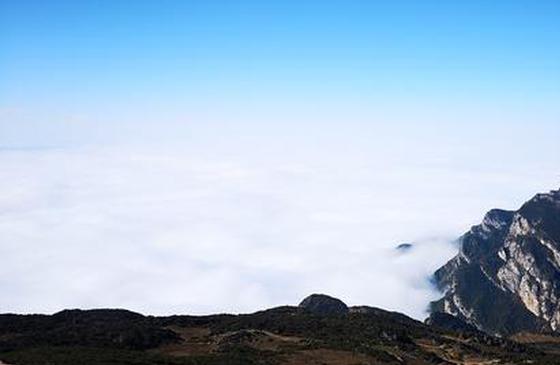 高清图丨云山雾海 昭通大山包云海宛如仙境