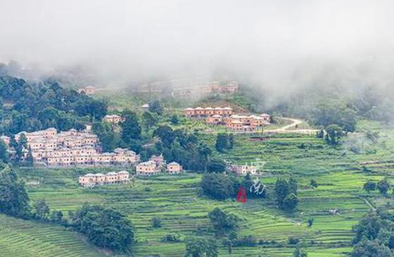 旅游丨云海梯田深处 藏着一个如诗如画的小村子
