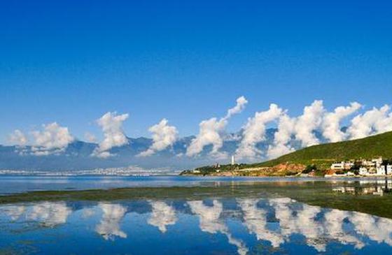 高清图丨任性大理云 绘就美丽乡村新画卷