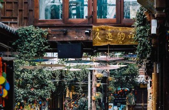 高清图丨邂逅诗情画意 漫步丽江青石板的街道