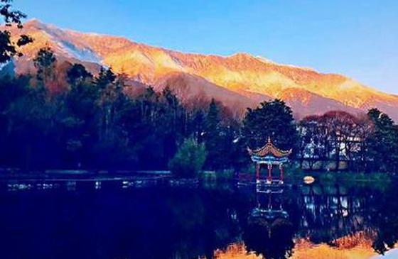 旅游丨美翻了!当苍山雪遇见洱海蓝