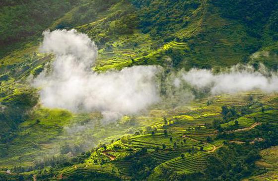 十一旅游攻略推薦丨看云上撒瑪壩 盡享原汁原味紅河游