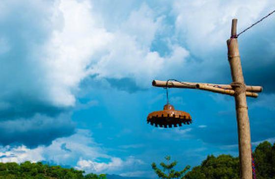 高清图丨普洱澜沧:#一点就到家风景照#的治愈美