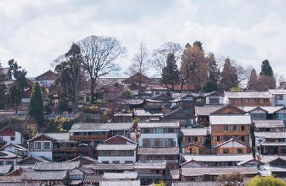高清圖丨麗江古鎮情懷里 藏著一個詩畫煙籠人家