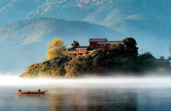 高清图丨云南泸沽湖:美好和静谧都在这里