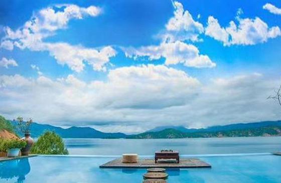 高清圖丨朝霞、星空、紅嘴鷗 美好的事物在瀘沽湖遇見