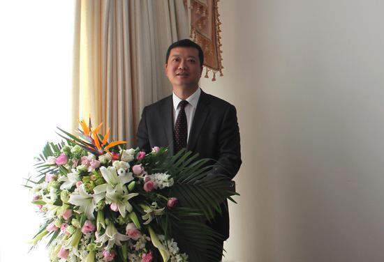 北京大成(昆明)律师事务所主任马巍致辞