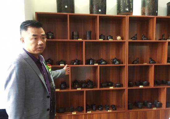 南省紫陶研究会副会长周亮
