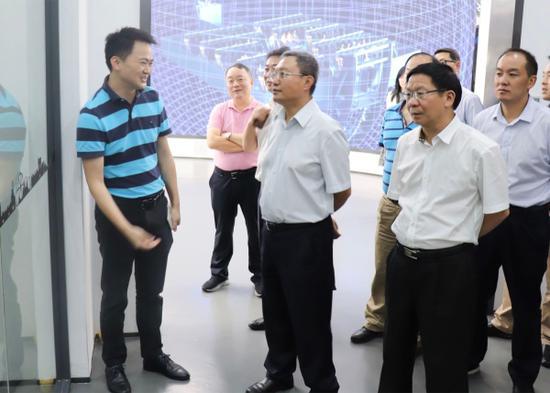 考察深圳华侨城文化旅游科技公司