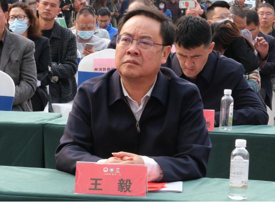 (文山州委常委、州委宣传部部长、州委统战部部长王毅)