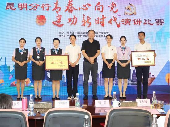 度假区支行和新区支行获得二等奖。