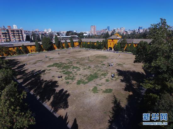 位于昆明市中心城区的云南陆军讲武堂。 罗春明 摄