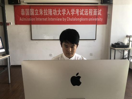 环亚国际教育举行朱拉隆功大学心理学笔试及面试现场