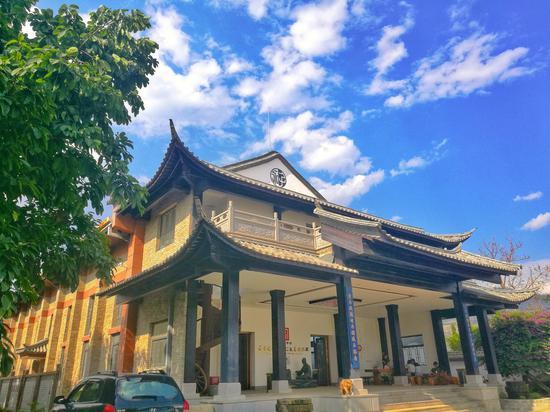 永子围棋文化园(王娅男/摄)