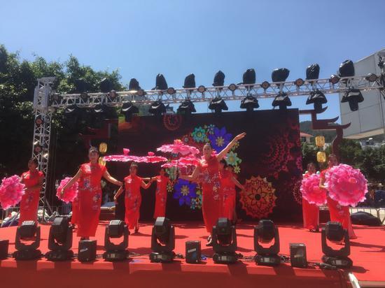旗袍主题赛装节