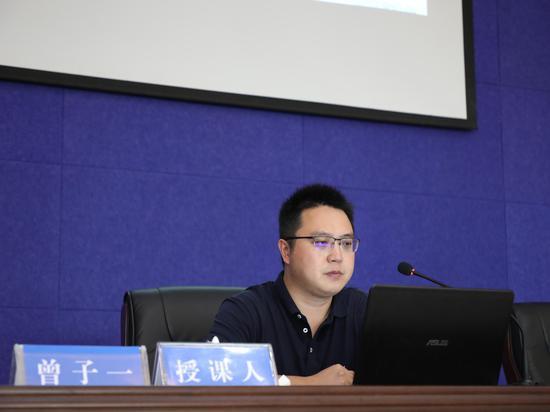 新浪云南副总经理、运营中心总编曾子一带来政务新媒体运营经验分享