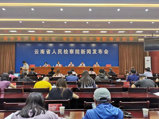 2019年以来云南检察机关批捕毒品犯罪案8034人