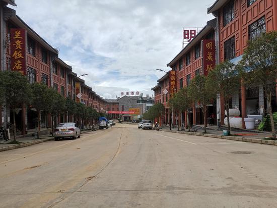 松山旅游小镇带动就近务工就业