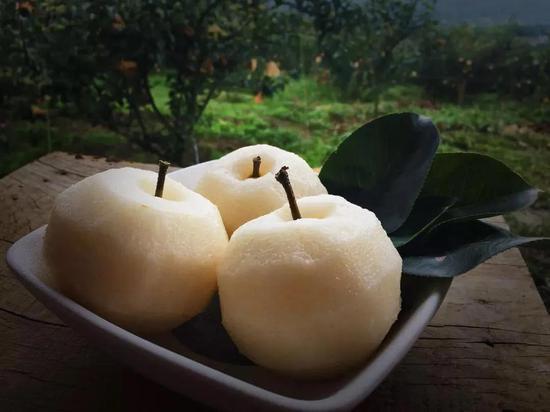 来帕连艺术村,一定要吃五合的梨