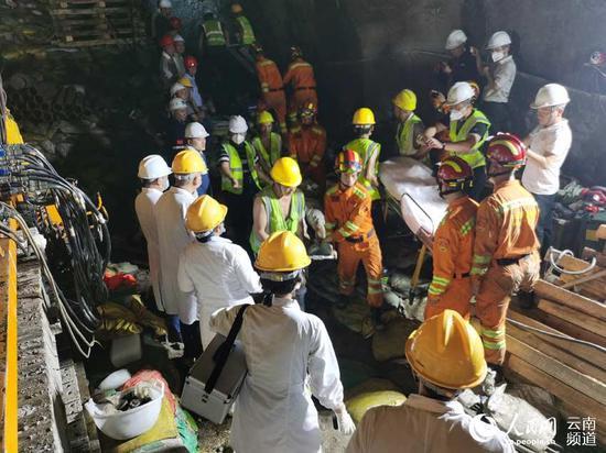 47小时!王岗山隧道4名被困人员成功获救