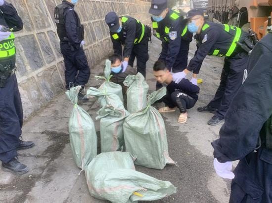 保山边境管理支队利用科技查获毒品103公斤