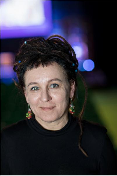 2018年诺贝尔文学奖得主奥尔加·托卡尔丘克 视觉中国供图