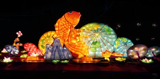 云南首届,美丽乡村大型彩灯展就在昆明!