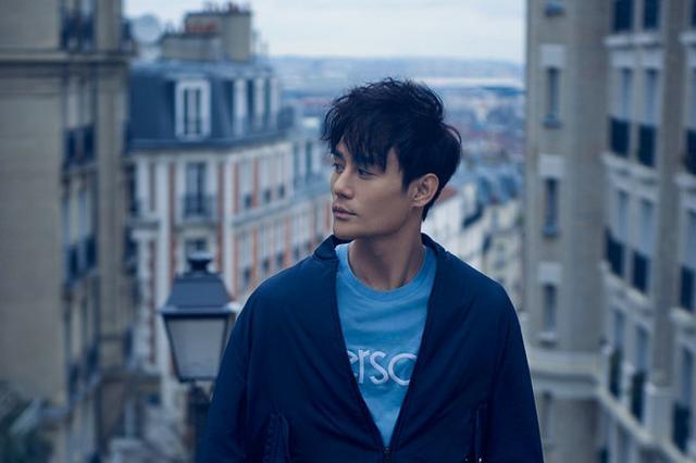 王凯登杂志封面 邂逅慵懒巴黎街头