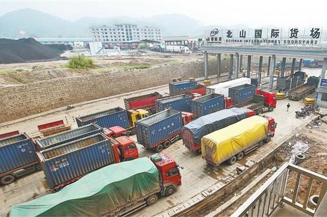 一季度河口口岸进出口贸易总值同比增长65.8%