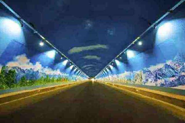 视频:全国首个智能景观隧道在云南大理开通