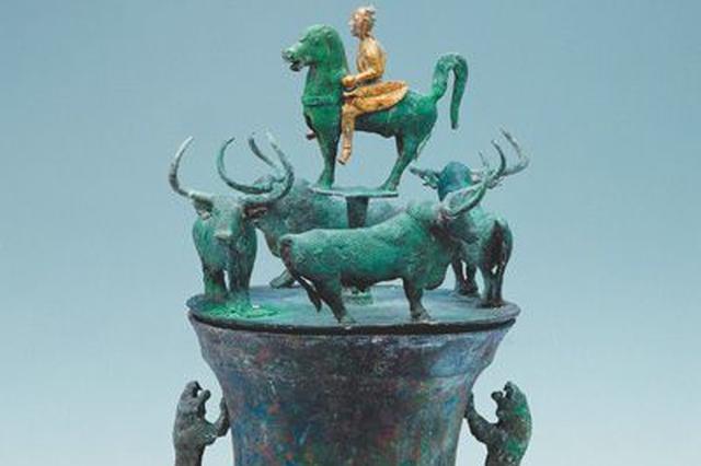 古滇国的贮贝器:青铜铸造的无声史书