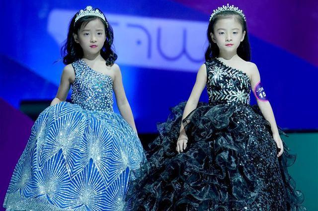 中国超级童模精英赛在重庆落幕