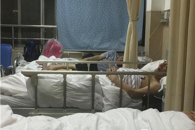 女子骑电动自行车肇事逃逸 7旬老人被撞腿骨骨折