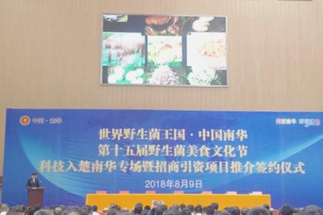 云南南华举办招商项目推介签约仪式 成果丰硕