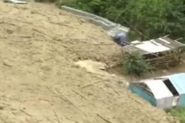 视频|云南泸水市泥石流来袭 1人受伤1人失联