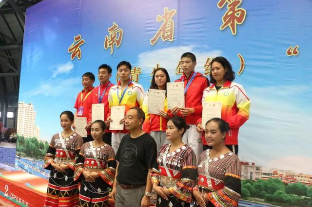 云南省运会游泳项目开赛 临沧代表团勇夺3金
