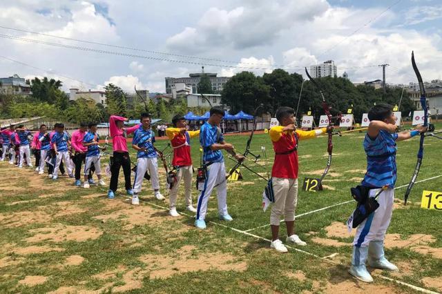 云南省运会射箭项目临沧代表团夺1金1银2铜