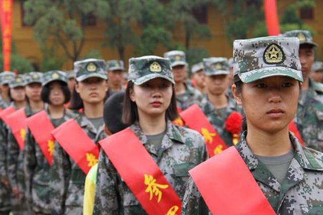 组图|云南2018年度新兵出征 陆军讲武堂受领入伍命令