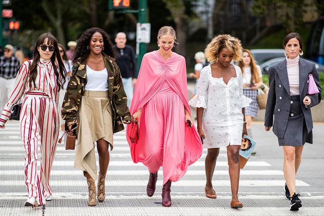 2019春夏纽约时装周:潮人街拍