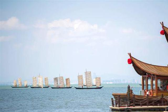 组图丨云南高原湖泊滇池进入开湖捕捞季