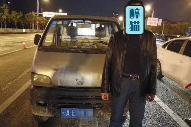 """酒驾司机变身 """"戏精""""街头""""飙戏"""" 被交警一秒识破"""
