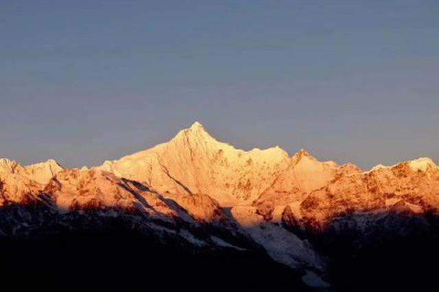 旅游丨用图片来记录梅里雪山日出的过程,岂止是壮观